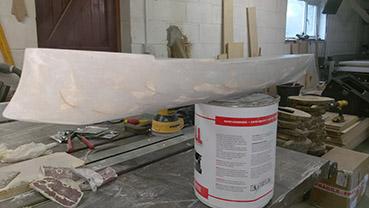 Model ship hull
