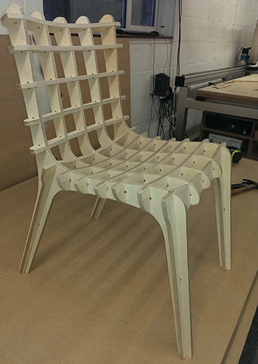 Slot chair