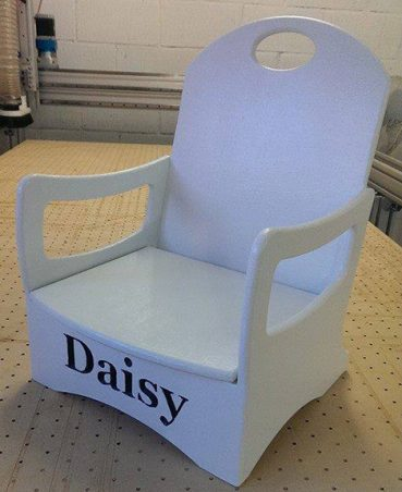 Custom kids chair